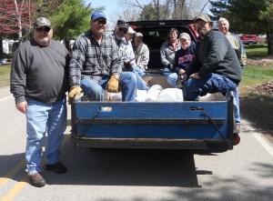 2012 garbage pickup
