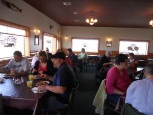 breakfast before bus trip 2012