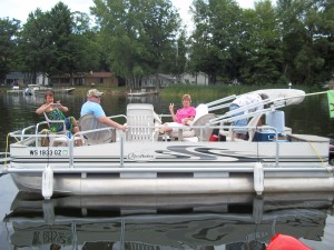 2013 Pontoon Tie-Up